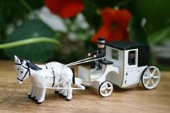 ライナー・フラットの結婚式の馬車