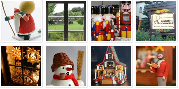 ドイツ・ザイフェンの木のおもちゃ seiffen