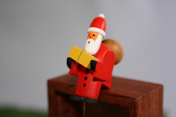 サンタやじろべえ小 台付き