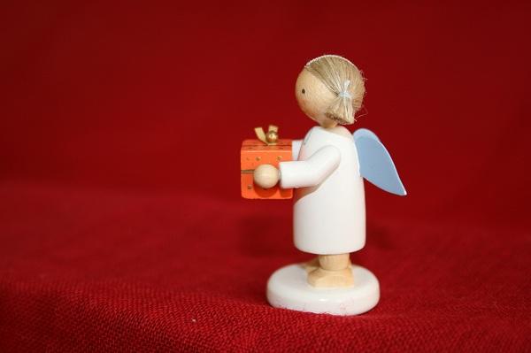 天使とプレゼント(オレンジ)