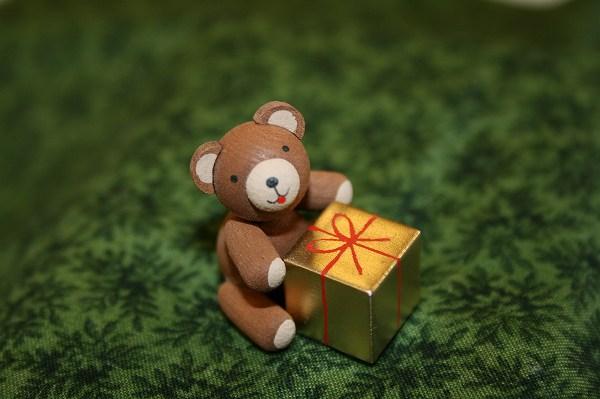 くまとプレゼント
