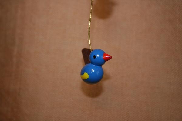 小鳥のペア赤・青