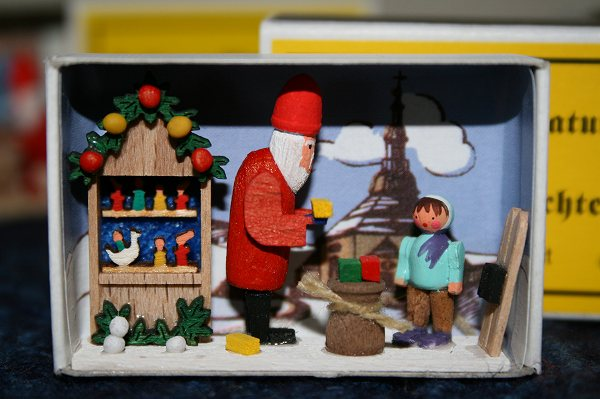 マッチ箱クリスマスの時間
