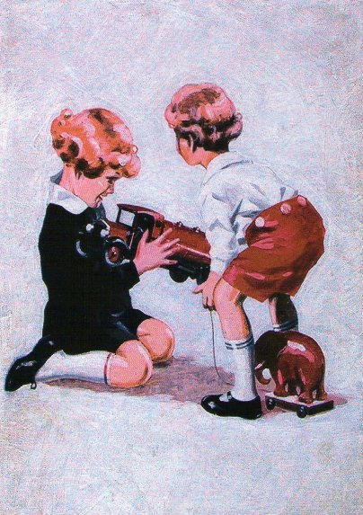ポストカード1952