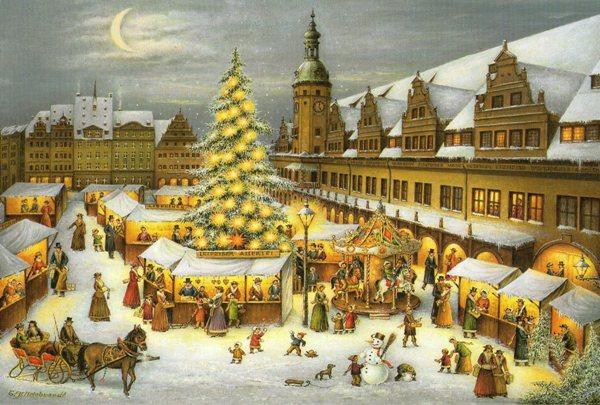 ライプツィヒWeihnachtsmarkt
