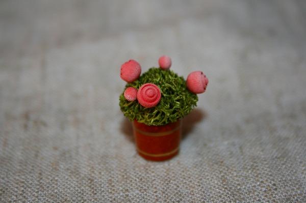 バラの植木鉢