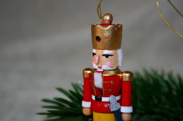 オーナメント くるみ割り人形 赤の王様