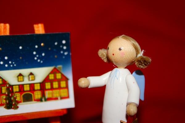 天使と星とアドベントカレンダー