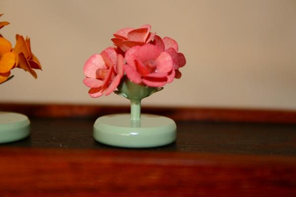 ピンクバラの木