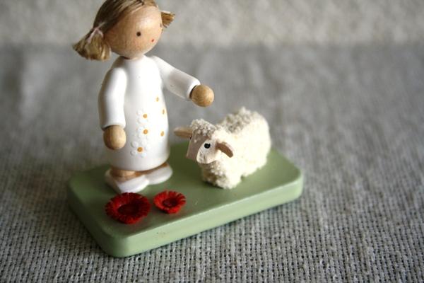 羊と女の子