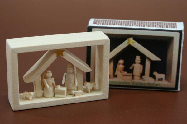 マッチ箱 白木聖誕