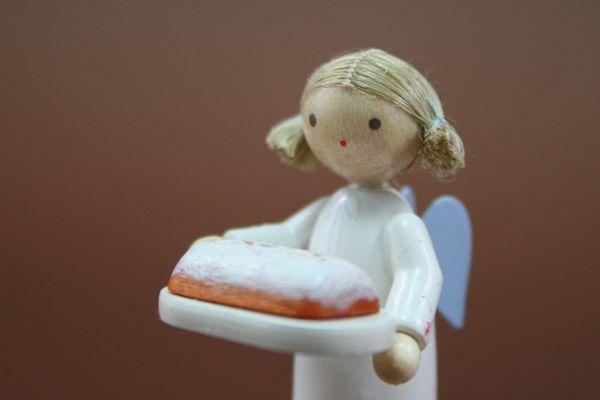 天使とシュトレン