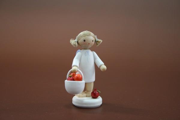 天使とりんごカゴ