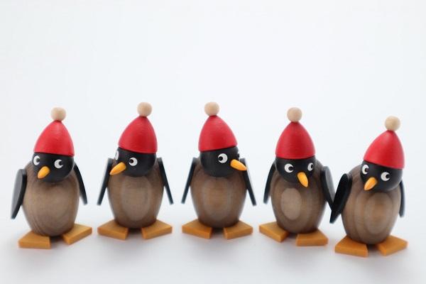 サンタペンギン ベビー グレー