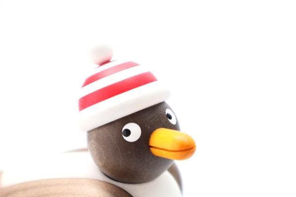 カモメ茶 赤シマ帽子