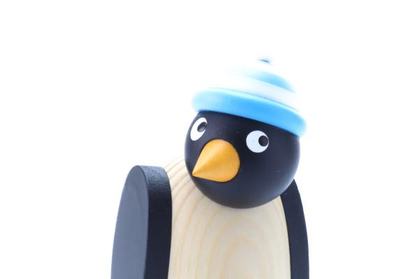 ペンギン 水色帽子